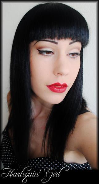 harlequin 39 girl makeup makeup and beauty pinterest. Black Bedroom Furniture Sets. Home Design Ideas
