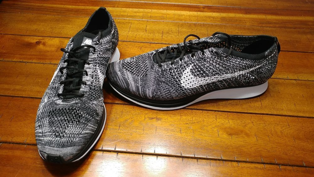 a67c4a35efd4 Nike Flyknit Racer Mens Size 15 Black White Oreo 526628-012 Running Shoes  New  fashion  clothing  shoes  accessories  mensshoes  athleticshoes (ebay  link)