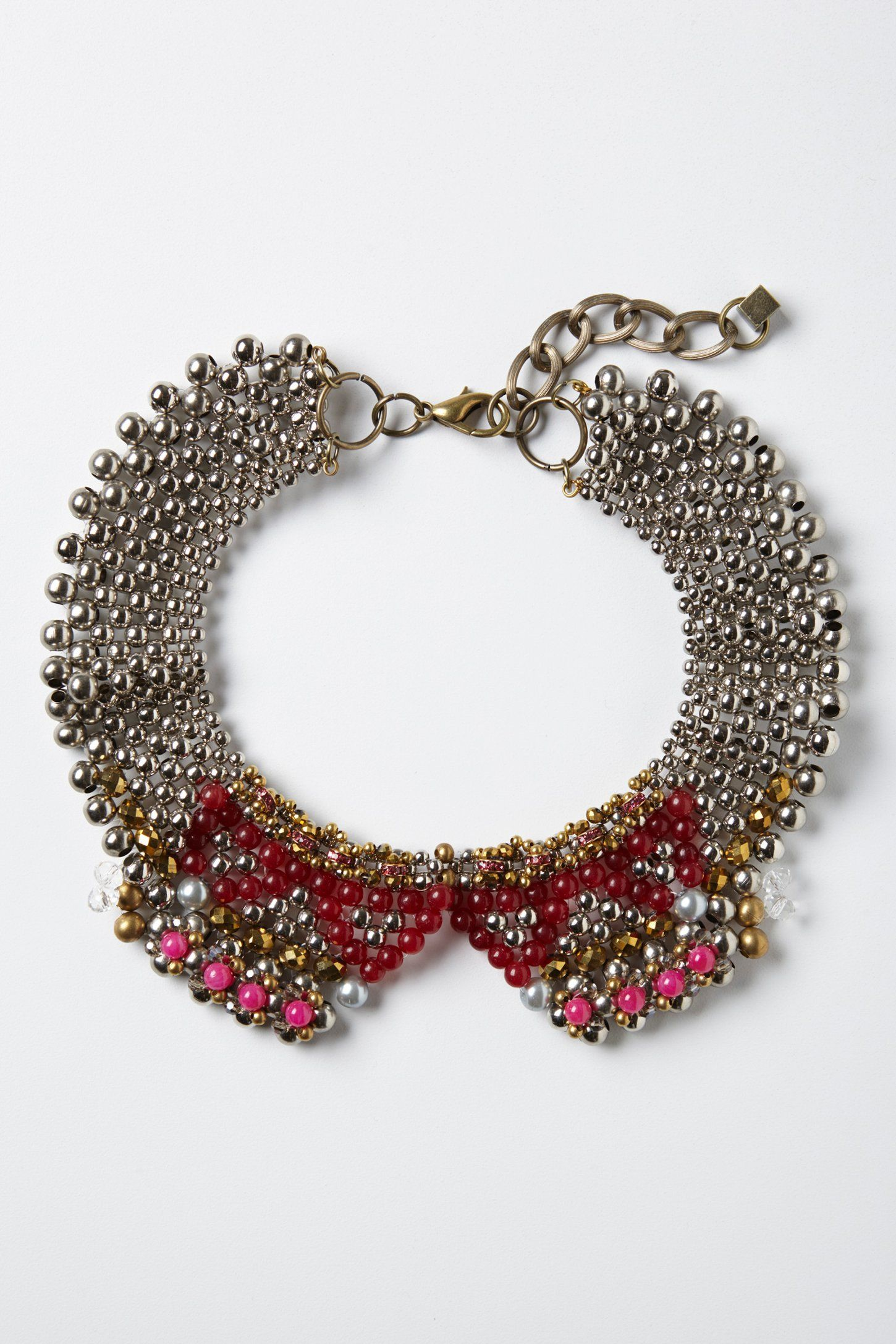 Sparked Agate Collar - Anthropologie.com
