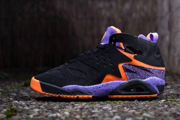 Nike Air Tech Challenge Huarache Black/Purple/Orange | Womens ...