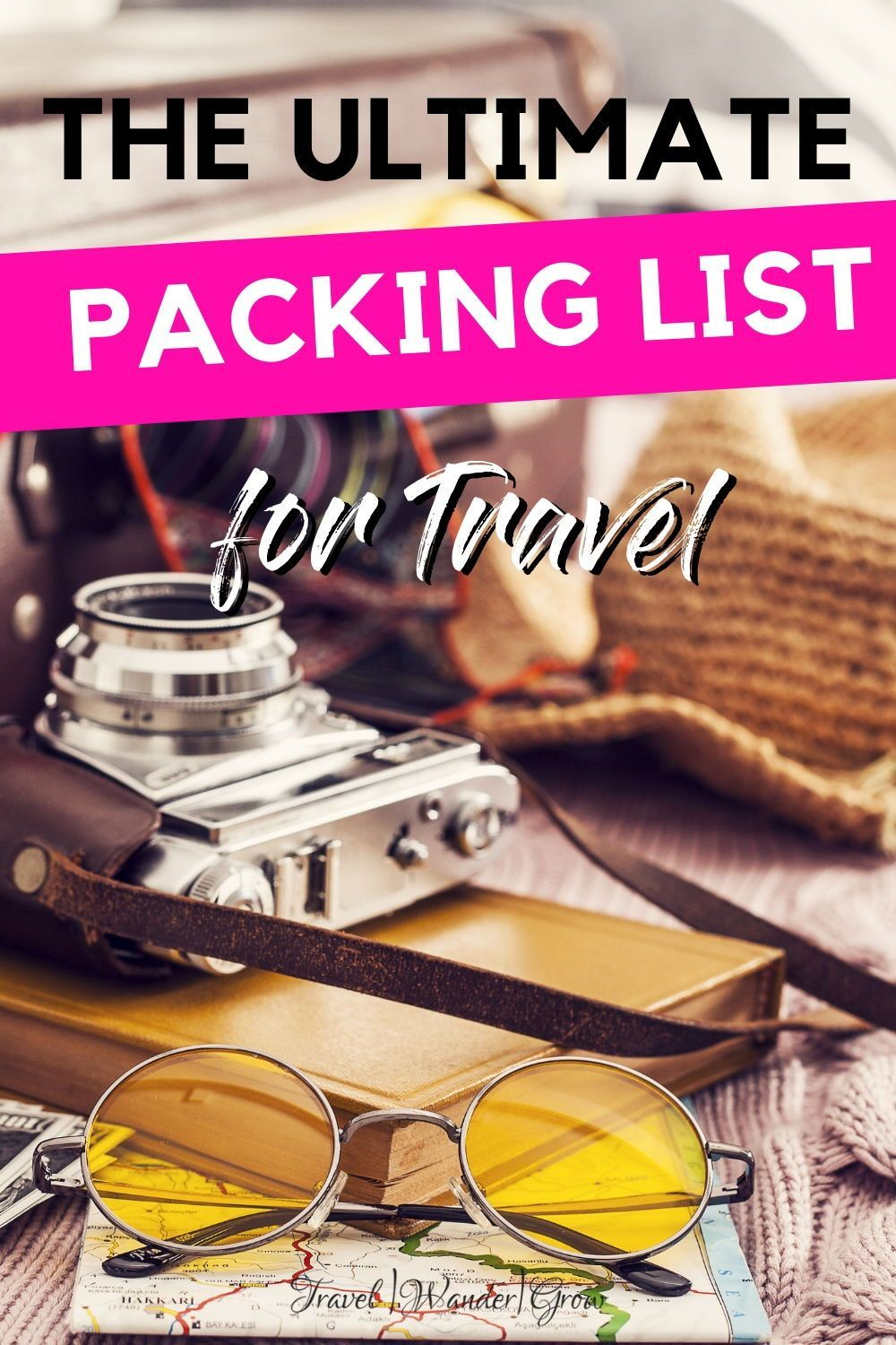 Do you often forget the important stuff when you travel? Well you'll never have to worry about that again! Get the ultimate packing list for vacation! This list includes the items that you need for toiletries, flight essentials, electronics and more! This list also comes with a free printable, so you can use it time and time again! #ultimatepackinglist