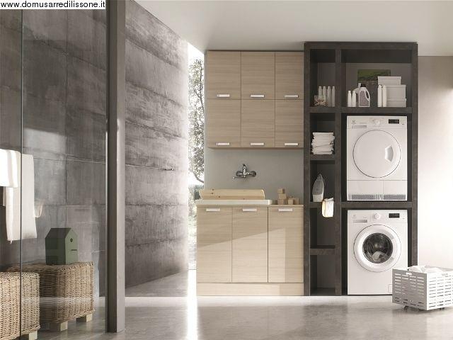 Mobile per Bagno e lavanderia . Mille idee per arredare lo spazio bagno includendo lavatrice e ...