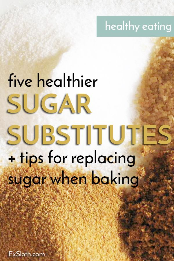 Tips for Replacing Sugar when Baking 5 healthier sugar alternatives, plus tips for using them to replace refined sugars when baking5 healthier sugar alternatives, plus tips for using them to replace refined sugars when baking