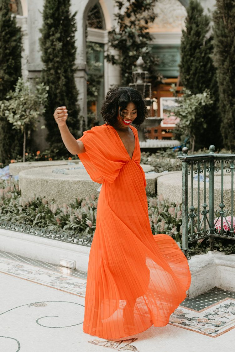 What To Wear In Las Vegas Long Red Dress Asos Work Conference