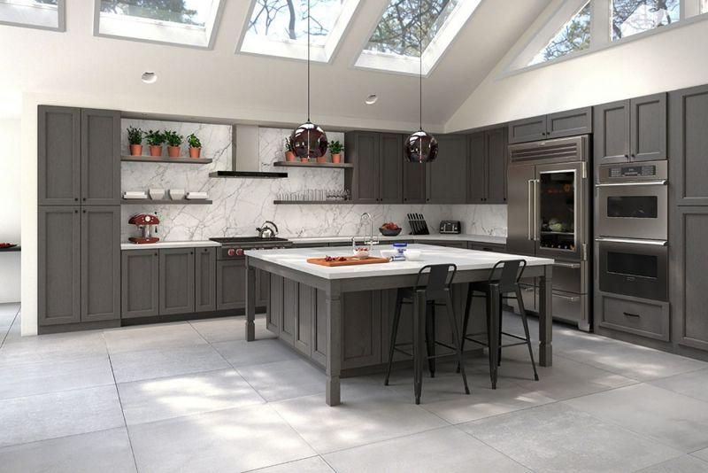 Best Midtown Grey Kitchen Cabinet Styles Kitchen Cabinet 640 x 480
