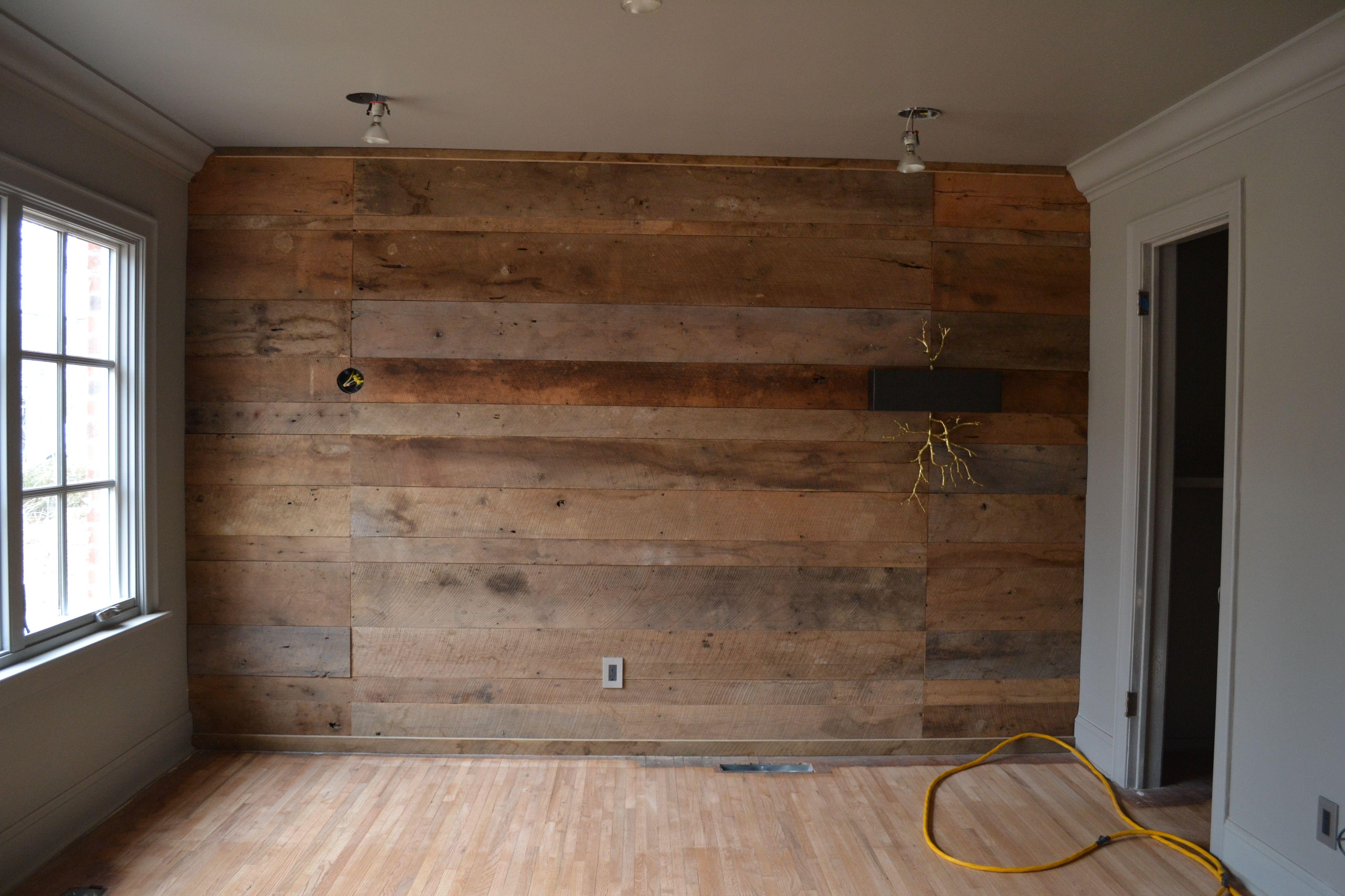 Cottage Makeover: Interior/Exterior Progress   Wood plank ...