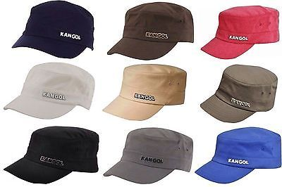 Authentic Mens KANGOL Army 9720BC Flexfit Cotton Twill Cap Hat S M L XL XXL d2d24e4bef61