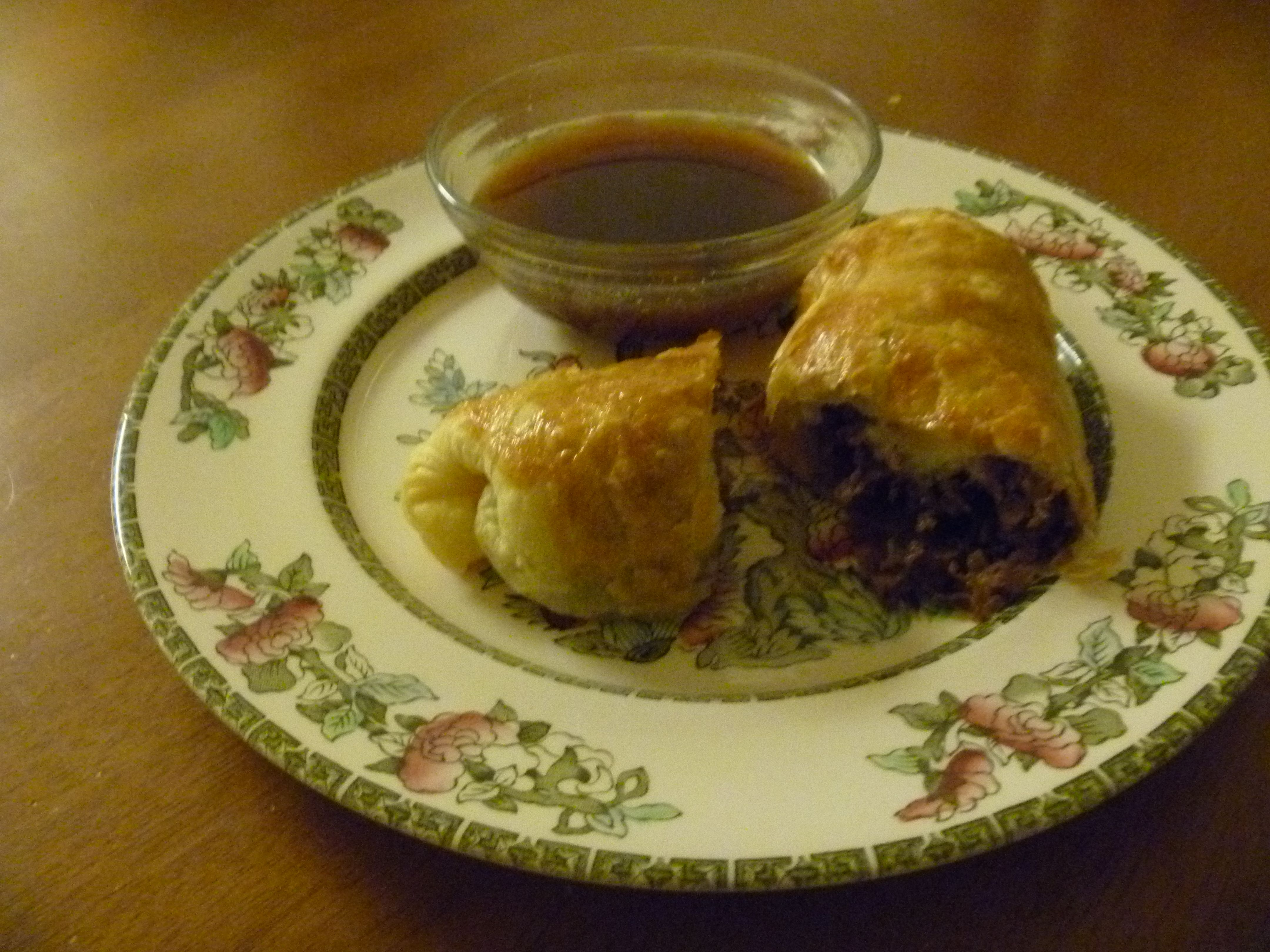 Philly Cheesesteak roll-ups  (on the food board)