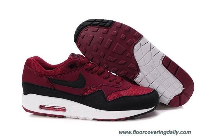 Nike Air Max 1 Men Gym Red Sail Rave Pink Anthracite nike air max sale nike huarache black Huge Discount