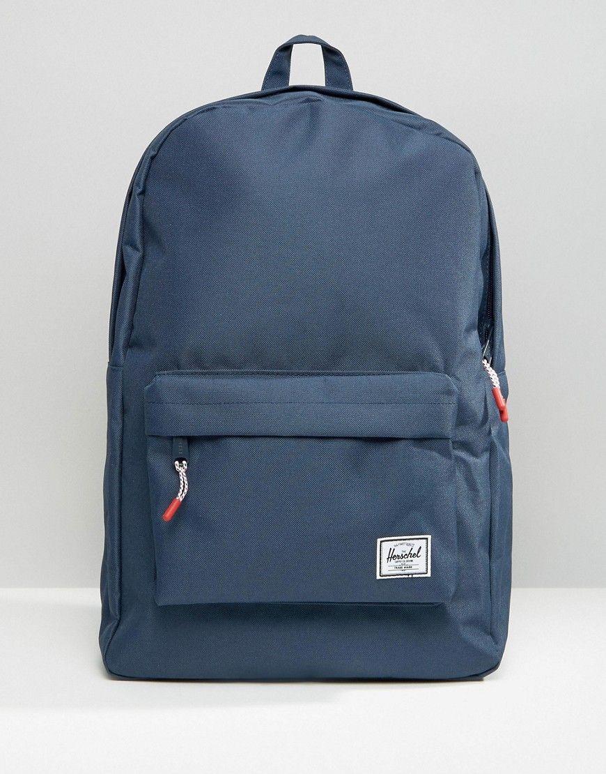 1a8ddd2af995 HERSCHEL SUPPLY CO 20L CLASSIC BACKPACK - BLUE.  herschelsupplyco  bags   canvas  backpacks  polyester