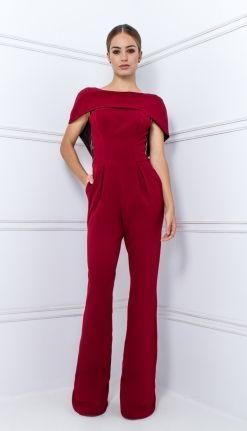 62ae6babb42 MACACÃO CREPE VINHO RENDA PRETA - MAC28134-36   Skazi, Moda feminina, roupa  casual, vestidos, saias, mulher moderna