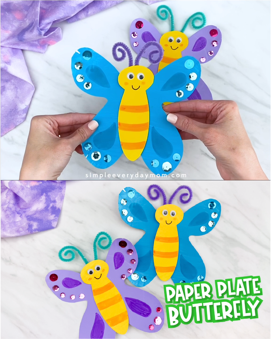 Photo of Butterfly Craft For Kids – Nilay&Vatertag