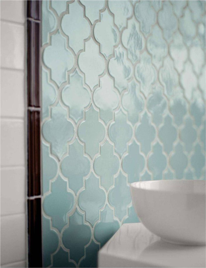 backsplash katied i d blogspot Ashbury Mosaic in Powder Blue from