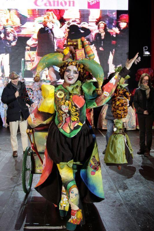 Winner of the Venice Carnival Costume Contest