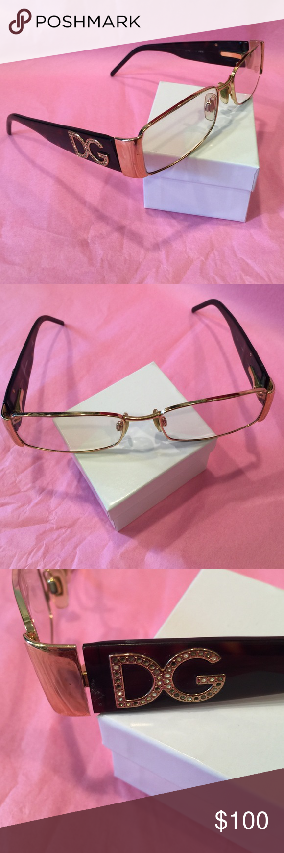 DOLCE & GABBANA AUTHENTIC FRAME Authentic DOLCE And GABBANA eyeglasses frame. Good conditions. Dolce & Gabbana Accessories Glasses