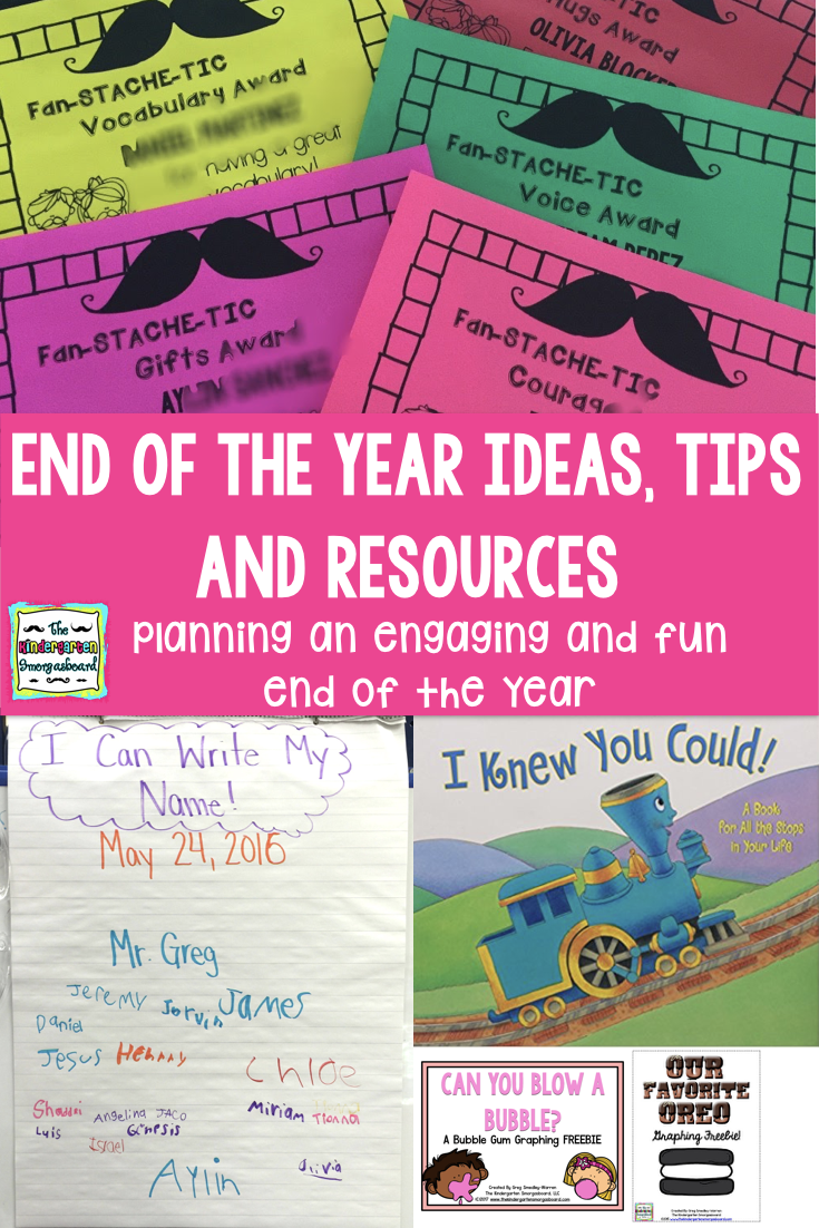 End Of The Year: Gifts And Awards | The Kindergarten Smorgasboard