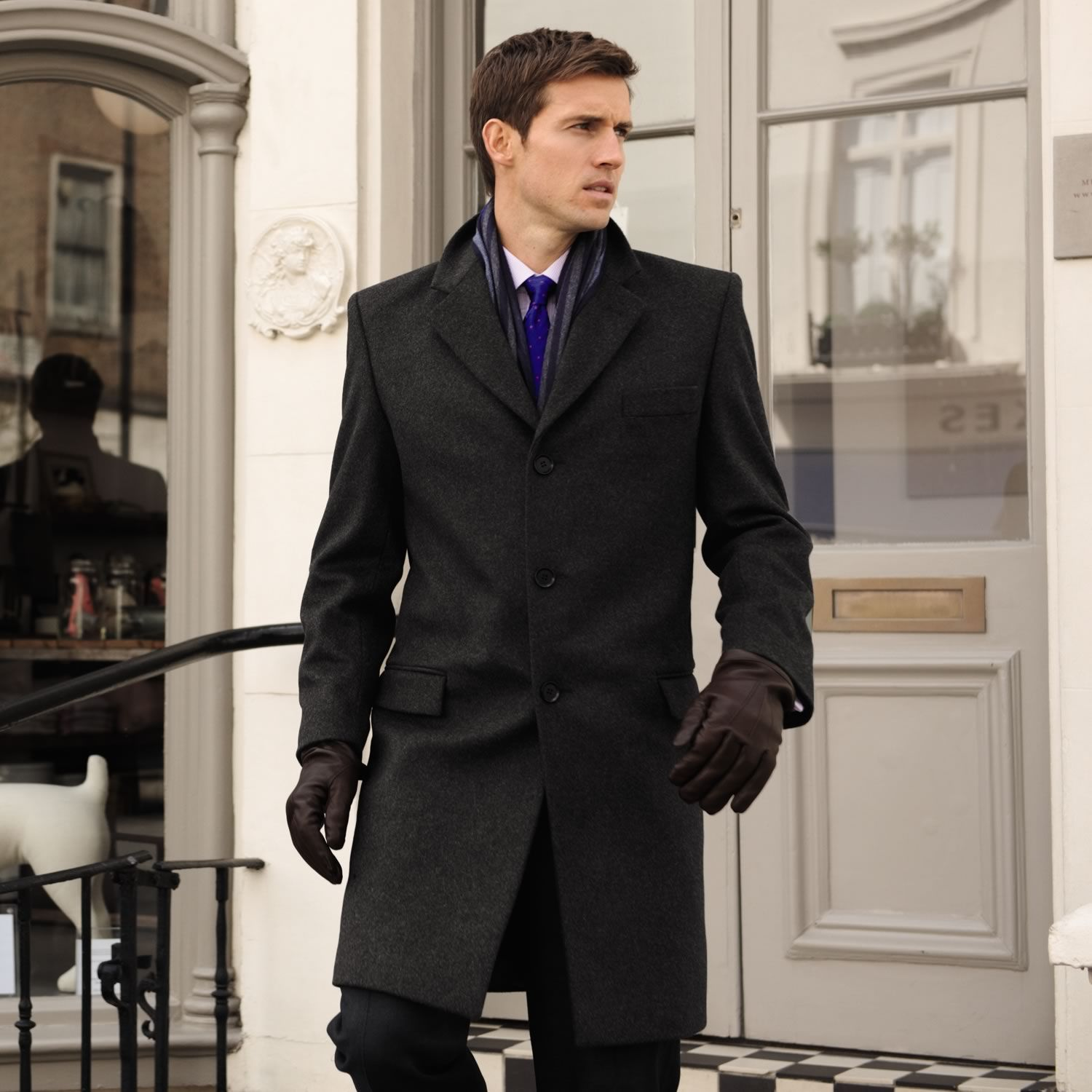 Cashmere Coats For Men | Down Coat