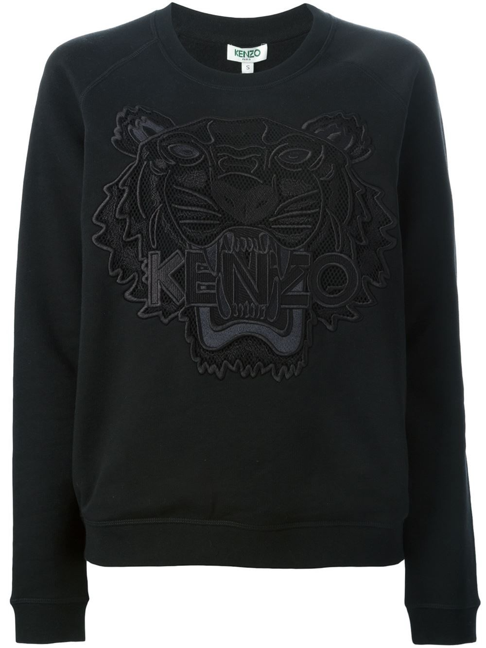 1f39a5cf Shop Kenzo 'Tiger' sweatshirt in Changing Room from the world's best  independent boutiques at farfetch.com. Shop 300 boutiques at one address.