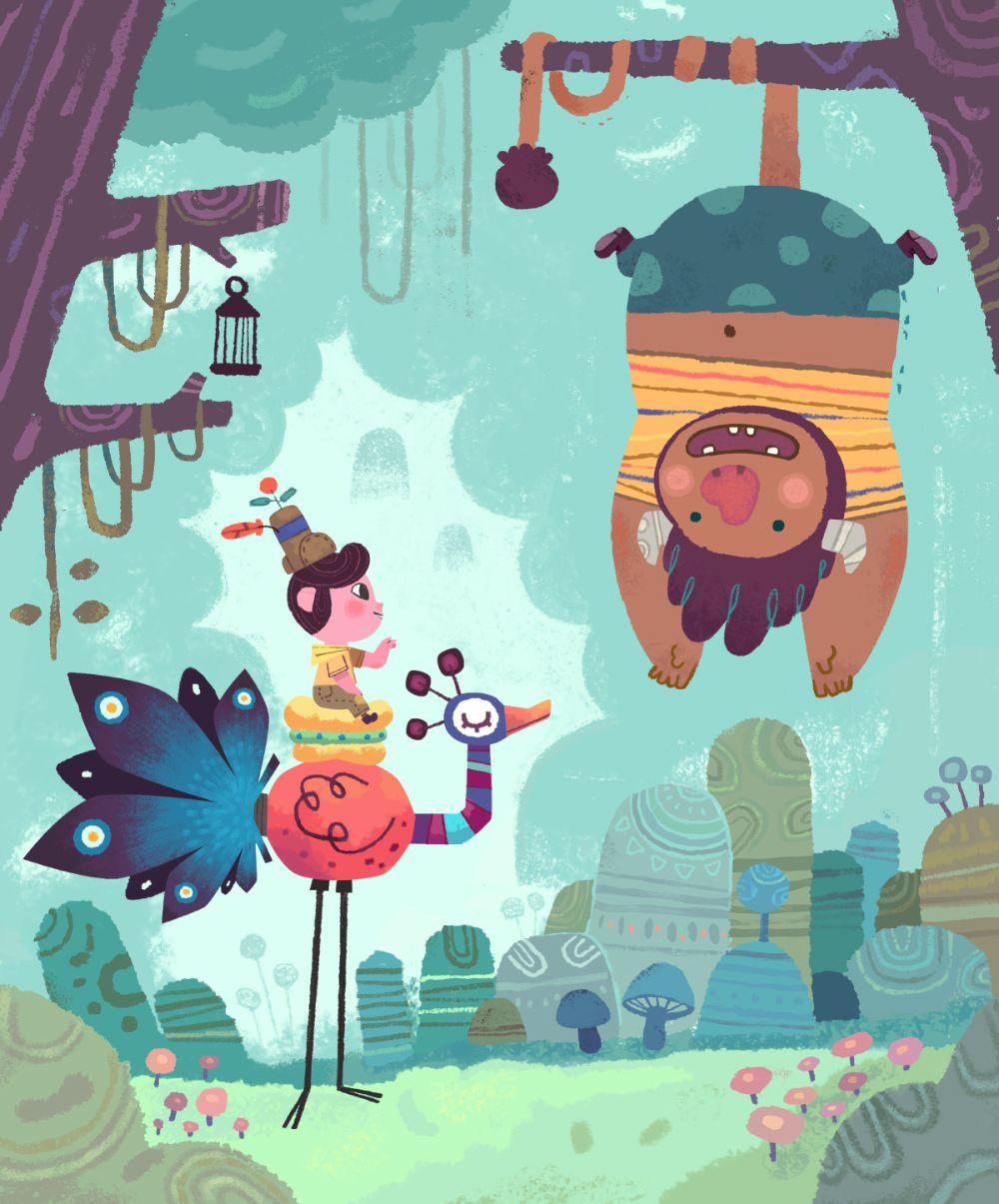 Playtime Mr Bubbly On Behance Illustration Art Kids Doodle Illustration Picture Books Illustration