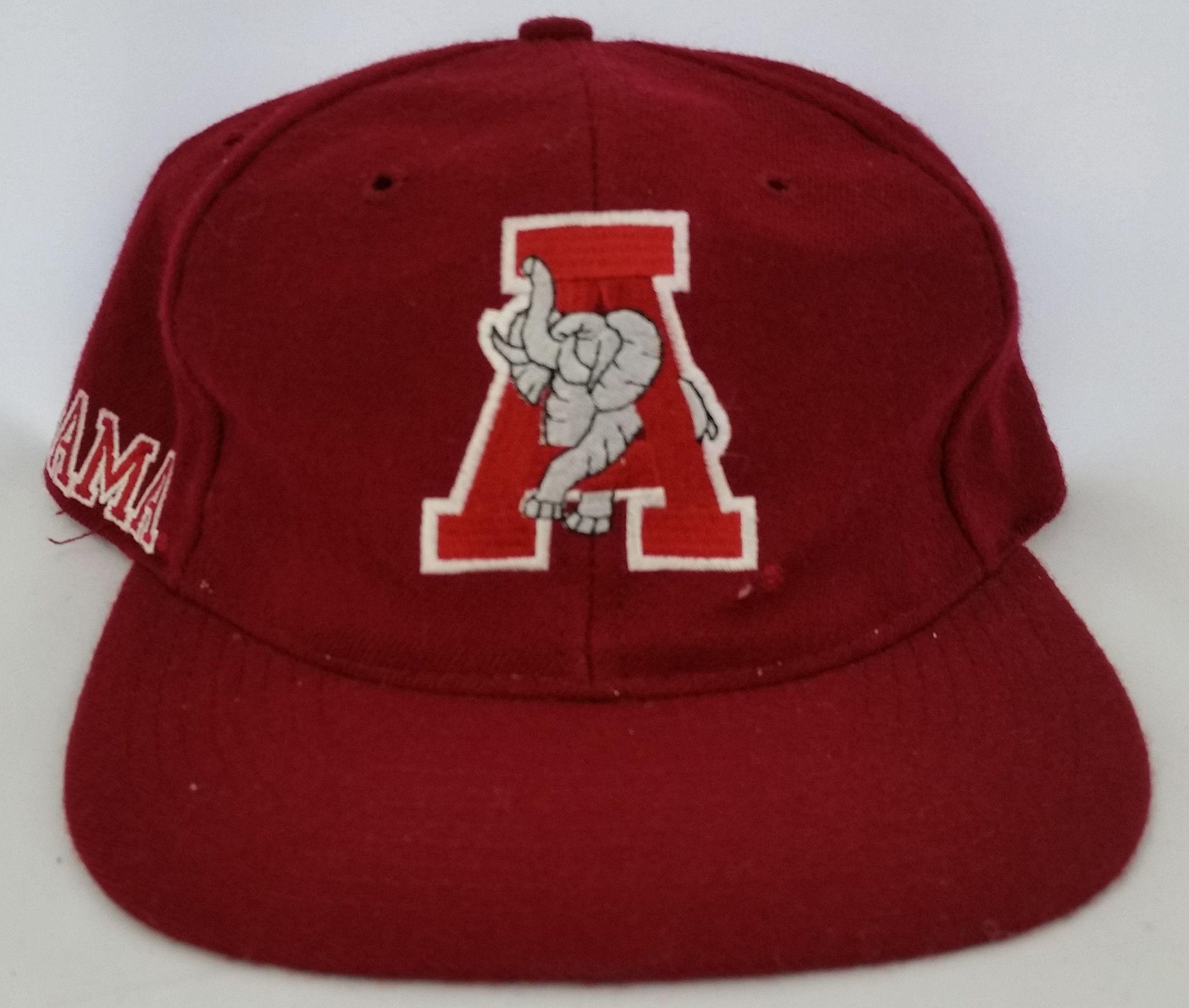 Alabama Crimson Tide Vintage Snapback American Needle Back Script ...