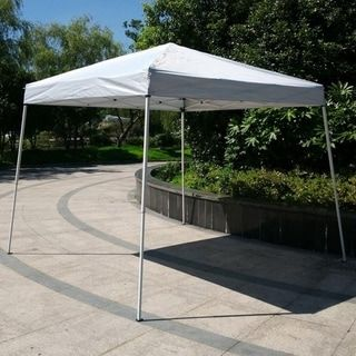 Camping Beach Gazebo Party Folding Sunshade Pop Up Canopy Tent Blue 10x10 Feet In 2020 Canopy Tent Patio Gazebo