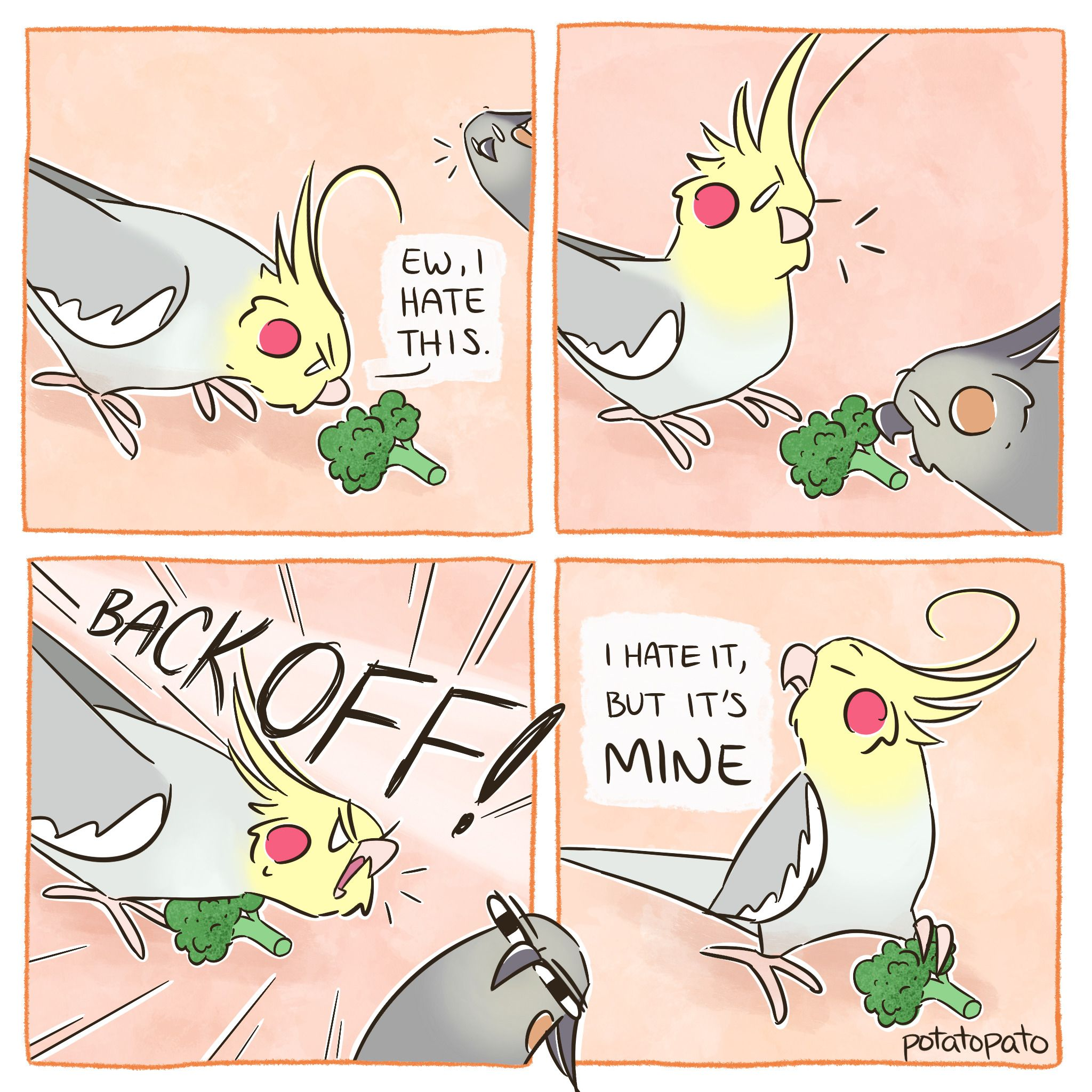 to my tiel comics ) Please don't repost without