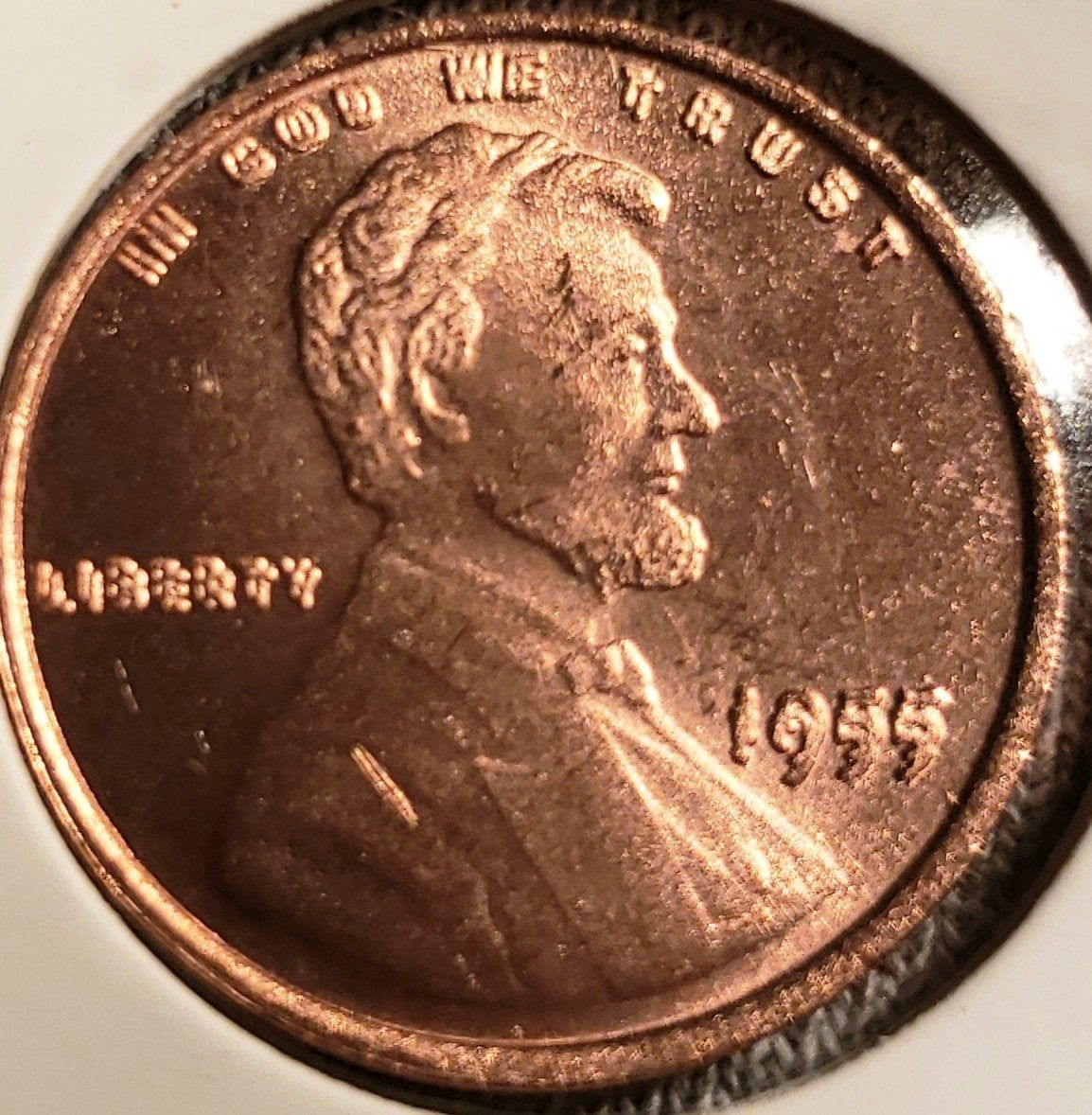 1955 Double Die Lincoln Penny Restrike Rare Pennies Coins Worth Money Error Coins
