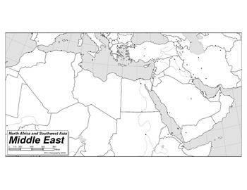 This copyright free map of the north africa and western asia is from map of north africa and western asia gumiabroncs