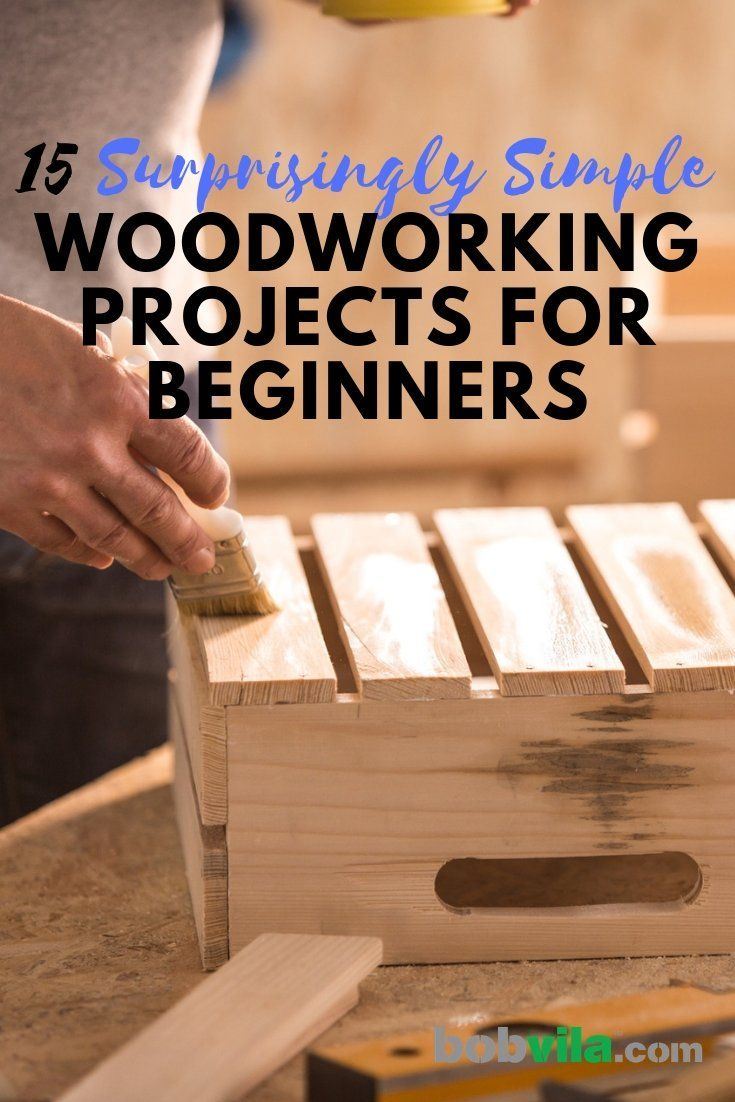 Beginner Woodworking Projects - 15 Surprisingly Simple Wood Working Projects, Diy Wood Working, Wood Working For Beginners, Wood Working Tools, Wood Working Gifts, Wood Working Bench, Wood Working Plans Free, Wood Working Jigs and more. #diywood #woodtrellis #woodmantle #woodworking