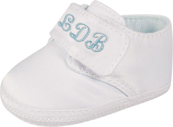 Baby Boy Monogrammed Shoes