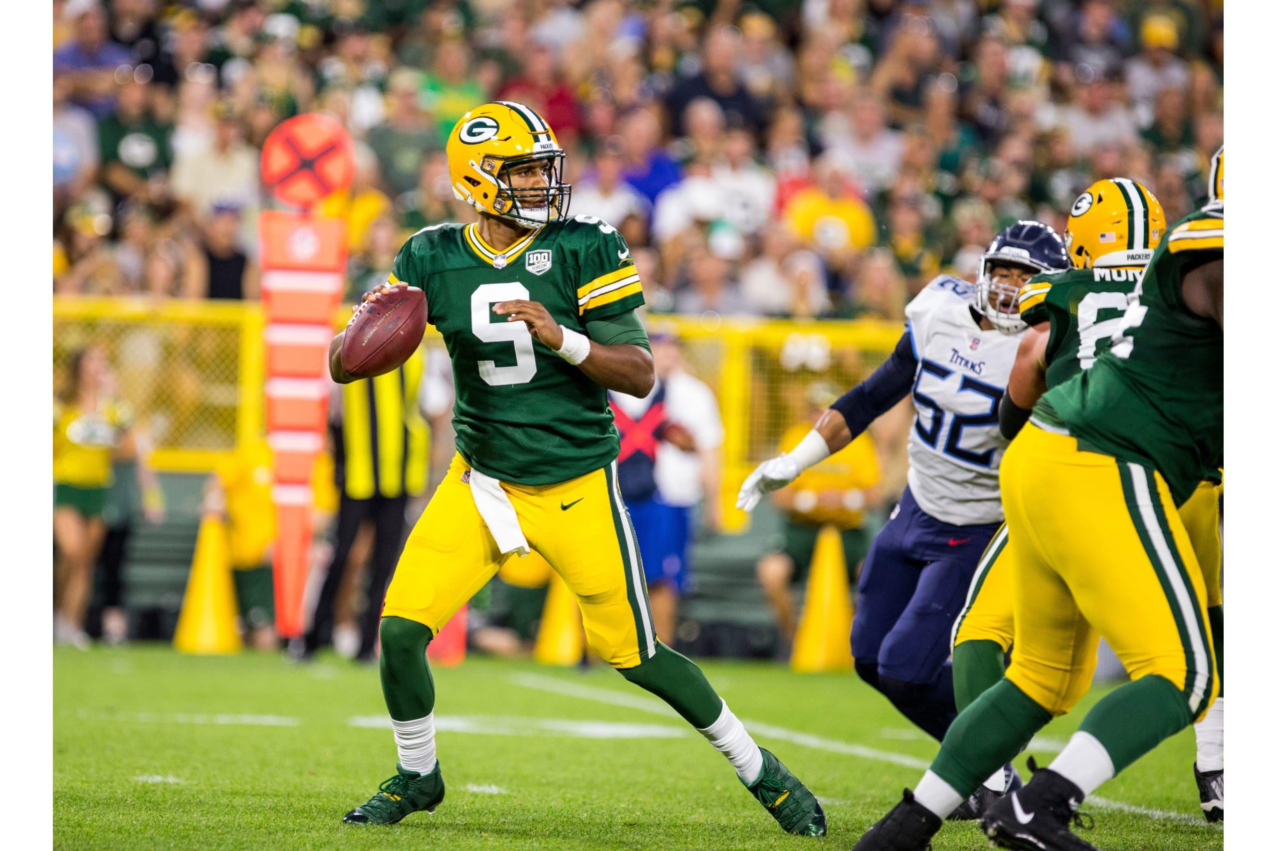 9 Qb Deshone Kizer Green Bay Packers Packers Nfl
