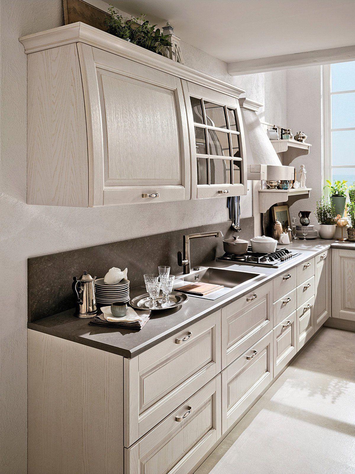 Cucine country stile tradizionale o new classic cucine for Stosa cucine verona