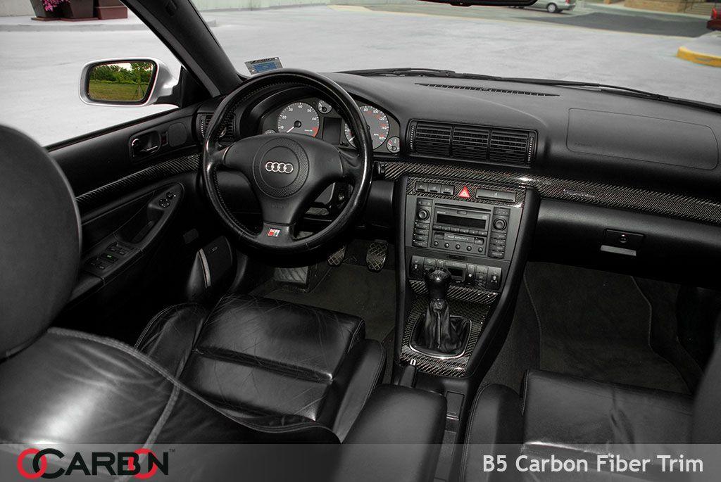 Ocarbon Audi A4 B5 Carbon Fiber Interior Trim For A4 S4 Rs4