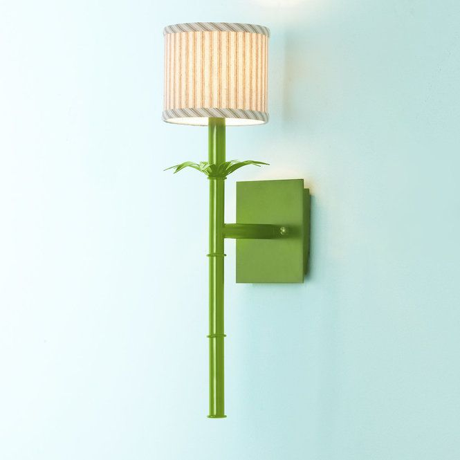 Bamboo Stick Sconce | Lights and Bedrooms