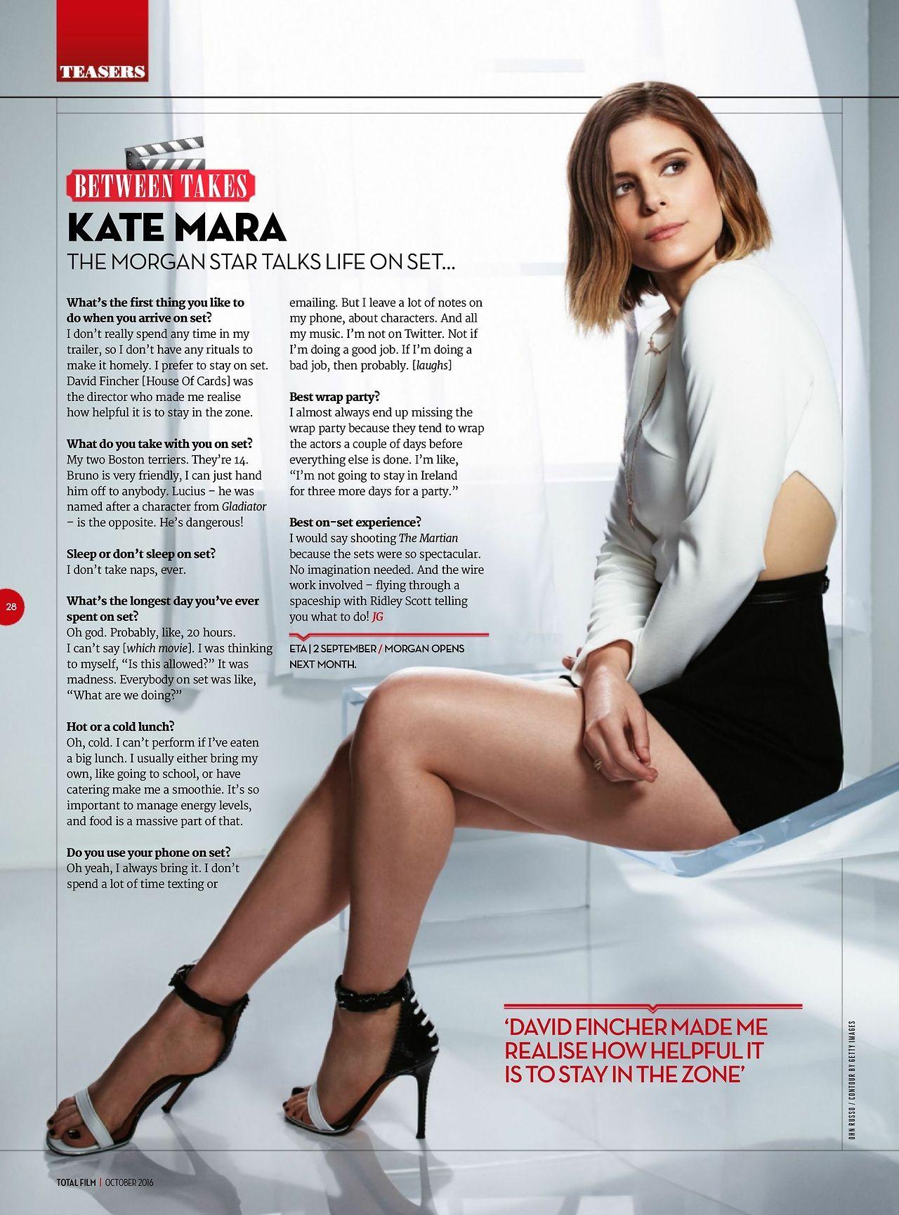 Kate mara hot legs