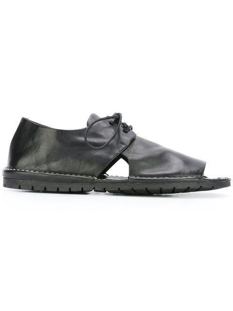 MARSÈLL Lace-Up Sandals. #marsèll #shoes #flats