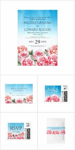 Rose Sky Wedding Collection