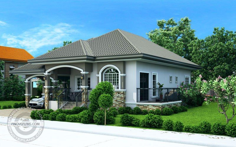 Luxury 2 Bedroom Elevated House Design Pinoy Eplans Modern Bungalow House Bungalow House Design Bungalow House Plans
