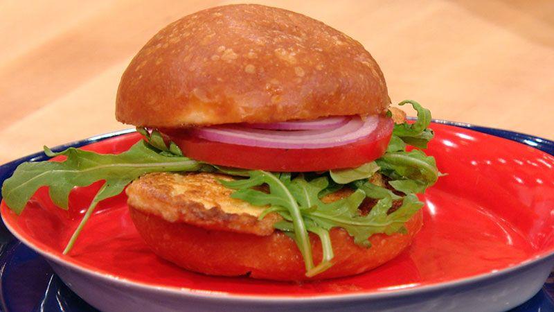 Chicken Française Sandwiches