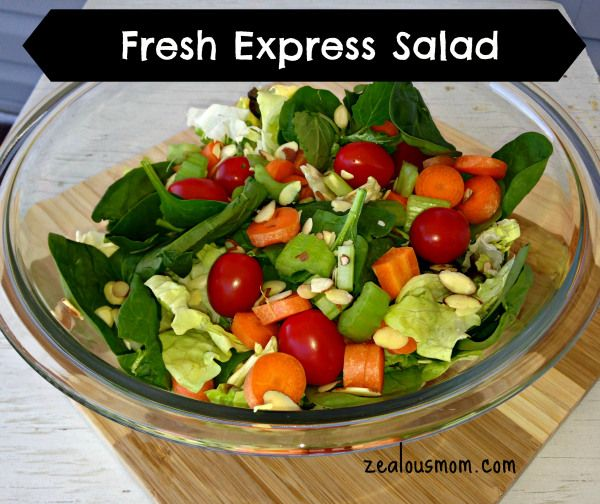 Fresh Express Salad review  A delicious line of lettuces and