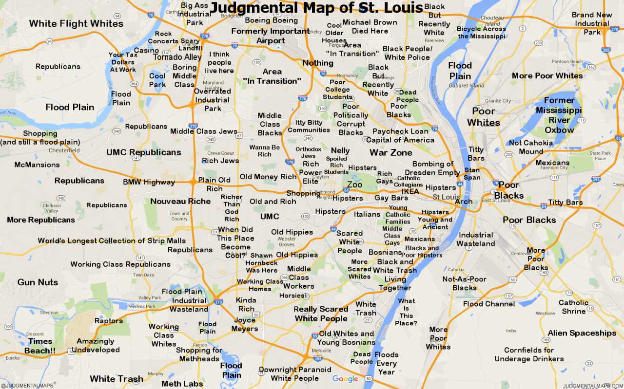 free printable map of st louis attractions from tripomatic