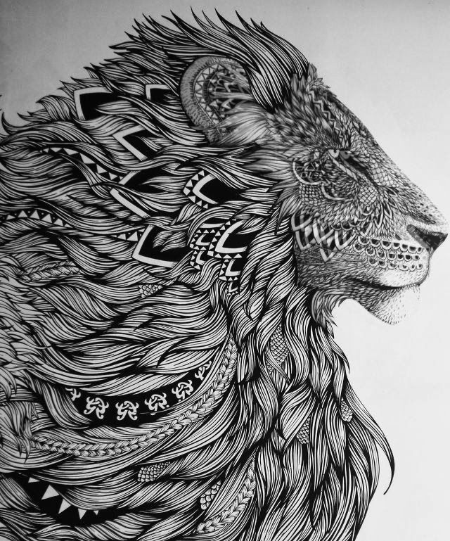 zentangle leon | abril XD | Pinterest | Tattoo vorlagen, Zentangle ...