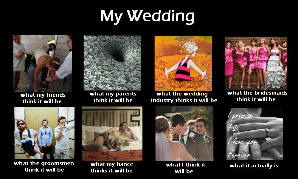 A little wedding meme I created. | Wedding planning quotes, Wedding planning memes, Wedding humor