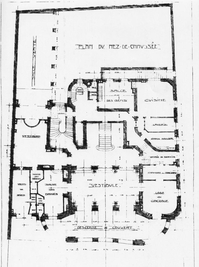 Hotel De Matignon Floor Plan Htel De Matignon File Htel