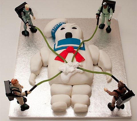how to make a ghostbusters cake