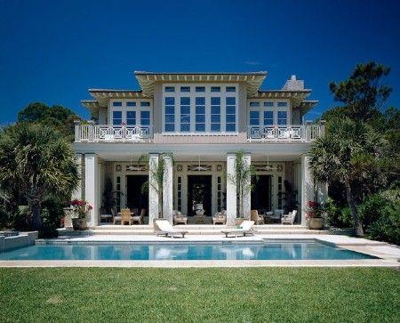 modern plantation style homes south carolina s hilton head is home to many newer houses