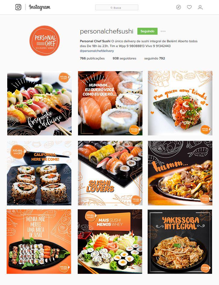 Mdias Sociais Pra Delivery De Sushi On Behance  Banner Idea