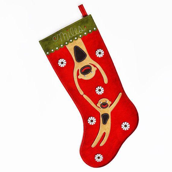 items similar to personalized christmas stocking on etsy