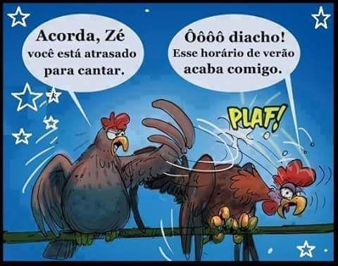 Acorda, Zé! #HorárioDeVerão