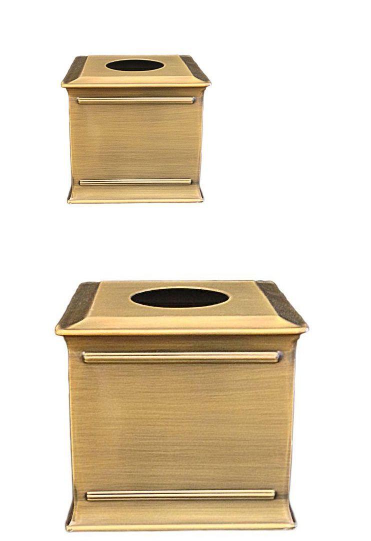 tissue box covers 25452 brass tissue kleenex box holder cover
